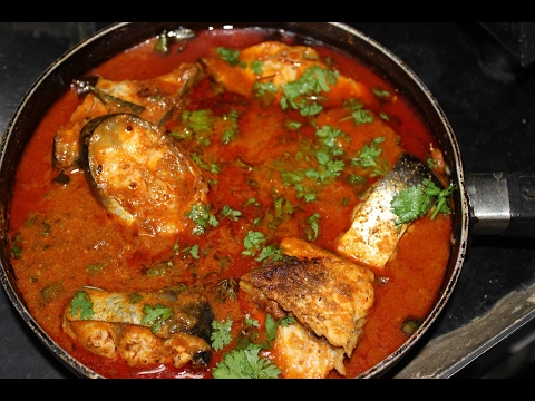 Telangana Spicy Fish Curry @ Mana Telangana Vantalu