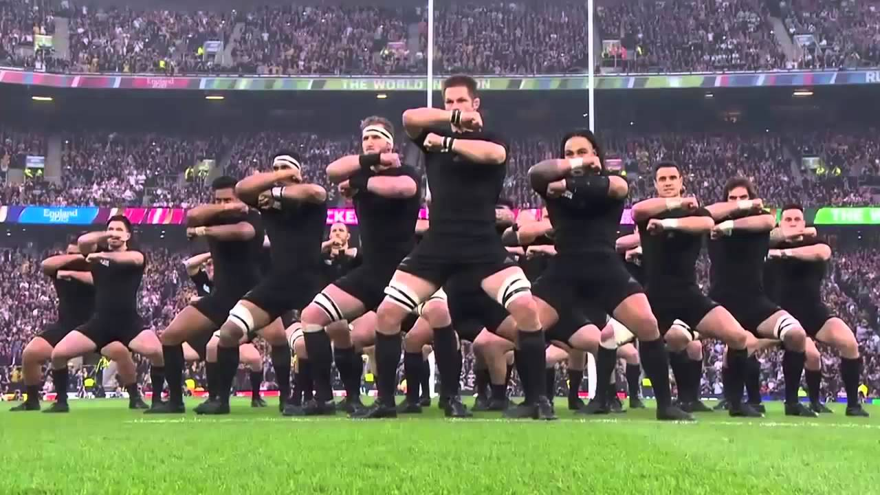 ffd9d156cd6 Fearsome All Blacks haka Rugby World Cup 2015 final v Australia ...