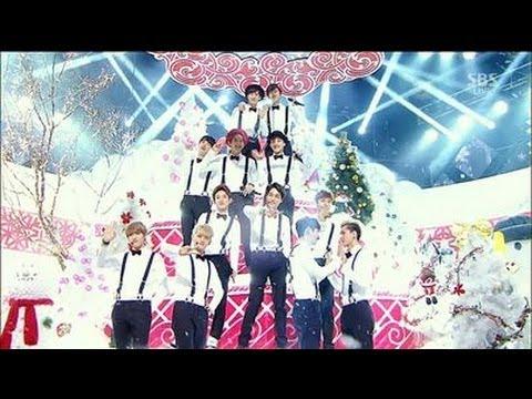 EXO 엑소 - Christmas Day @SBS Inkigayo -  Youtube