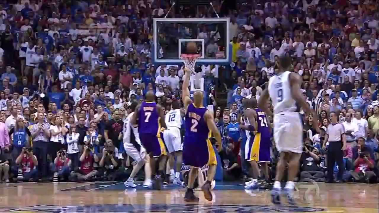 6/11/2009 Lakers vs Magic NBA Final Game 4 Derek Fisher Clutch Three Pointers (HD) - YouTube