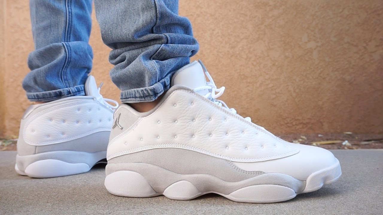 air jordan retro 13 low pure