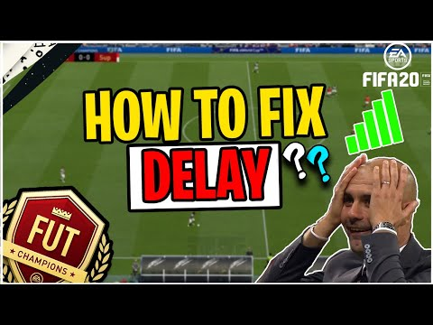 FIFA 20 HOW TO FIX DELAY?! MY TIPS TO IMPROVE CONNECTION TO EA SERVERS AND REDUCE DELAY/LAG | FUT 20