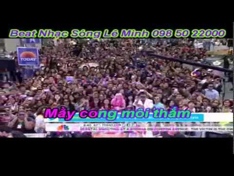 Karaoke ns-Co tham ve lang remix beat le minh