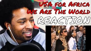 U.S.A. For Africa - We Are the World REACTION | DaVinci REACTS