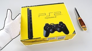 PS2 SLIM UNBOXING! Sony PlayStation 2 Console (Brand New & Sealed)