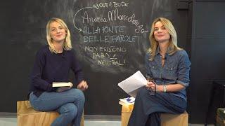 About a book – 'La fonte delle parole' (Mondadori) : Andrea Marcolongo