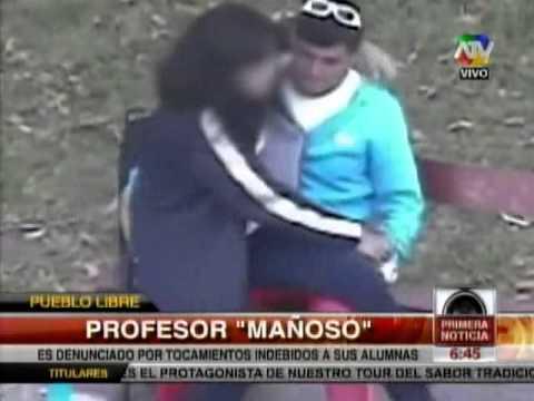TUTEVE.TV/ Profesor es denunciado por tocamientos indebidos a sus alumnas