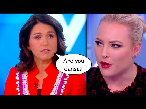 "'The View' Hosts Grill Tulsi Gabbard Over Pro-Peace Stance: Is That ""Popular""?"
