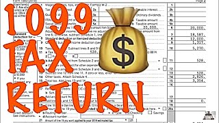 HOW TO FILE A TAX RETURN WITH A 1099 / INDEPENDENT CONTRACTOR / TAX PREPARATION