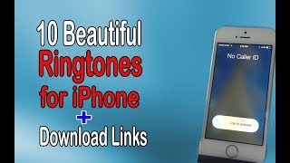 Check out 10 most beautiful ringtones for iphone with download links.. subscribe our channel https://goo.gl/6lv9s4 like,comment,subscribe more videos. if...
