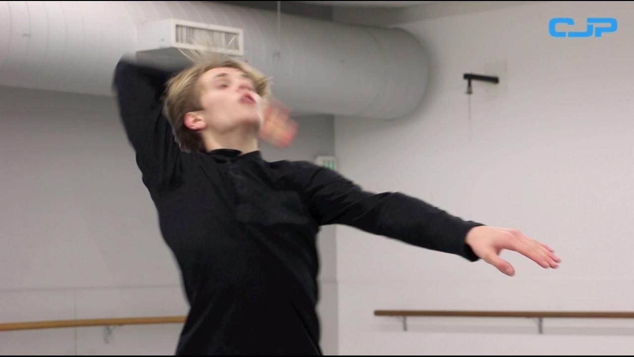 Achter de schermen bij danstalent Toon Lobach | CJP