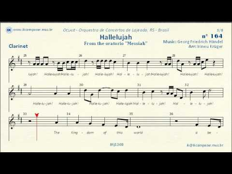 164 Hallelujah Clarinet Youtube