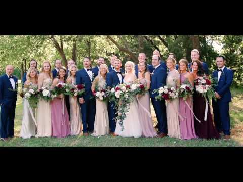 A Flower-Filled At-Home Oklahoma Wedding - Martha Stewart Weddings