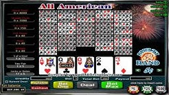 Desert Nights Casino  All American Poker 52 Hand Video Poker