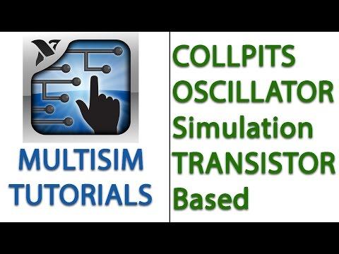 Colpitts Oscillator ( Transistor Based ) Simulation | MULTISIM |