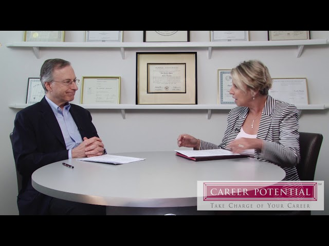 Networking: The Core of Your Job Search Part 1 Career Coach Ford R. Myers – Career Potential, LLC