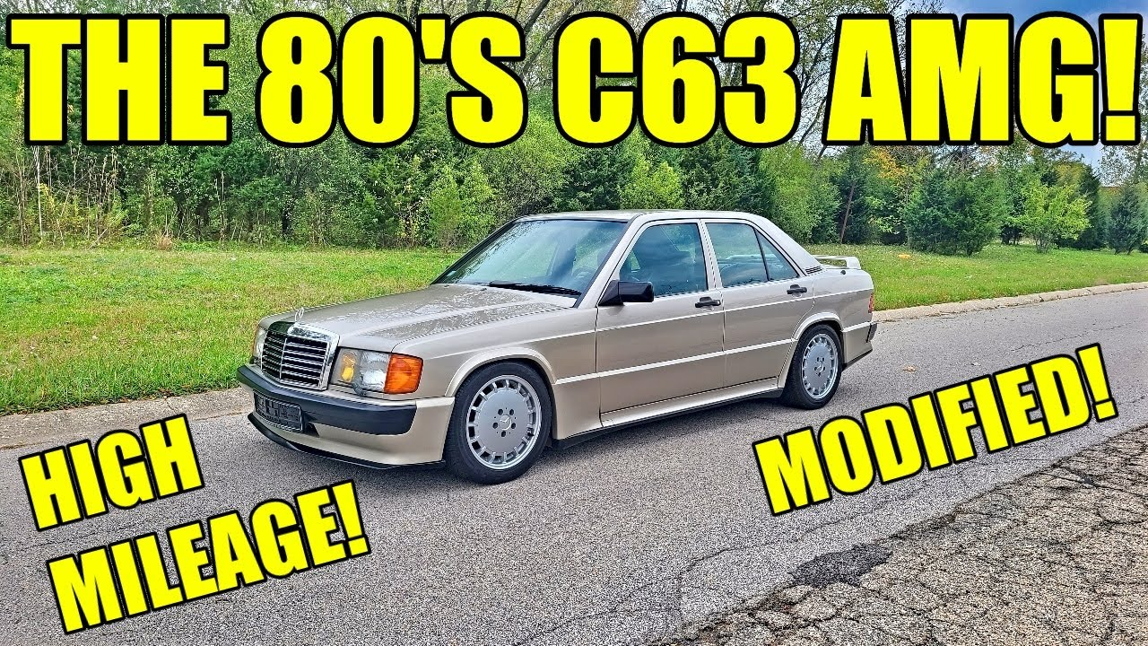 Download Inspecting, Fixing, & Driving A Rare Mercedes Icon! Modified & High Mileage 190E 2.3-16!