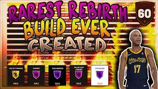 NBA 2K19 SECRET REBIRTH BUILD REVEALED!!! IM THE ONLY ONE THAT HAS THIS UNDERRATED BUILD!!😱😱🔥