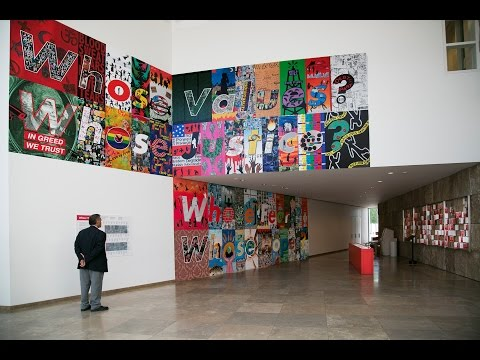 Whose Values?, Barbara Kruger, 2014/15 Getty Artists Program