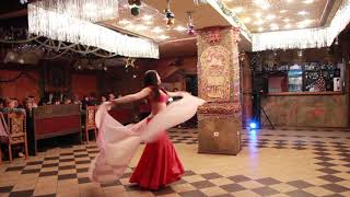 Восточный танец с шалью | Bellydance with double veil | Now we are free | Ayleen