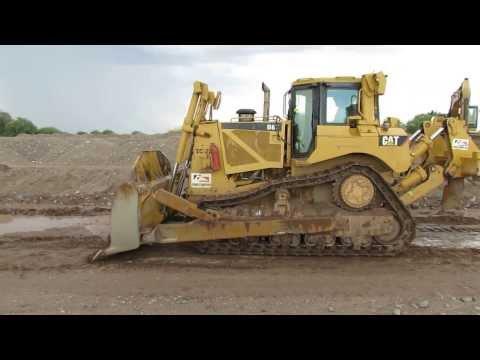 Caterpillar D8T Tractor Sobre Orugas Año 2006 - Parte 1