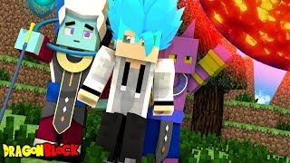 DEFEATING EVERY GOD THERE IS!   Dragon Block Okurimono    EP 8 (Minecraft Dragon Ball Roleplay)
