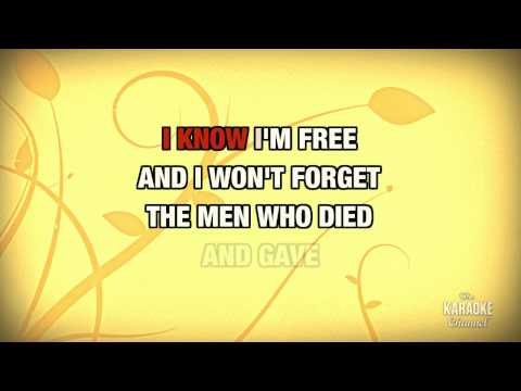 "God Bless The U.S.A. in the Style of ""Lee Greenwood"" karaoke video with lyrics (no lead vocal)"