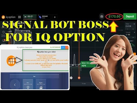 IQ option Signals Software With 100% Win Rate For Reall Account | Amazing Signals Bot Boss 2018