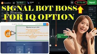 IQ option Signals Software With 100% Win Rate For Reall Account   Amazing Signals Bot Boss 2018