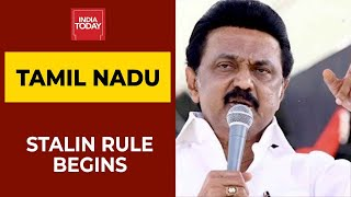 DMK Chief MK Stalin Sworn-In As The New Tamil Nadu Chief Minister | India Today's Ground Report
