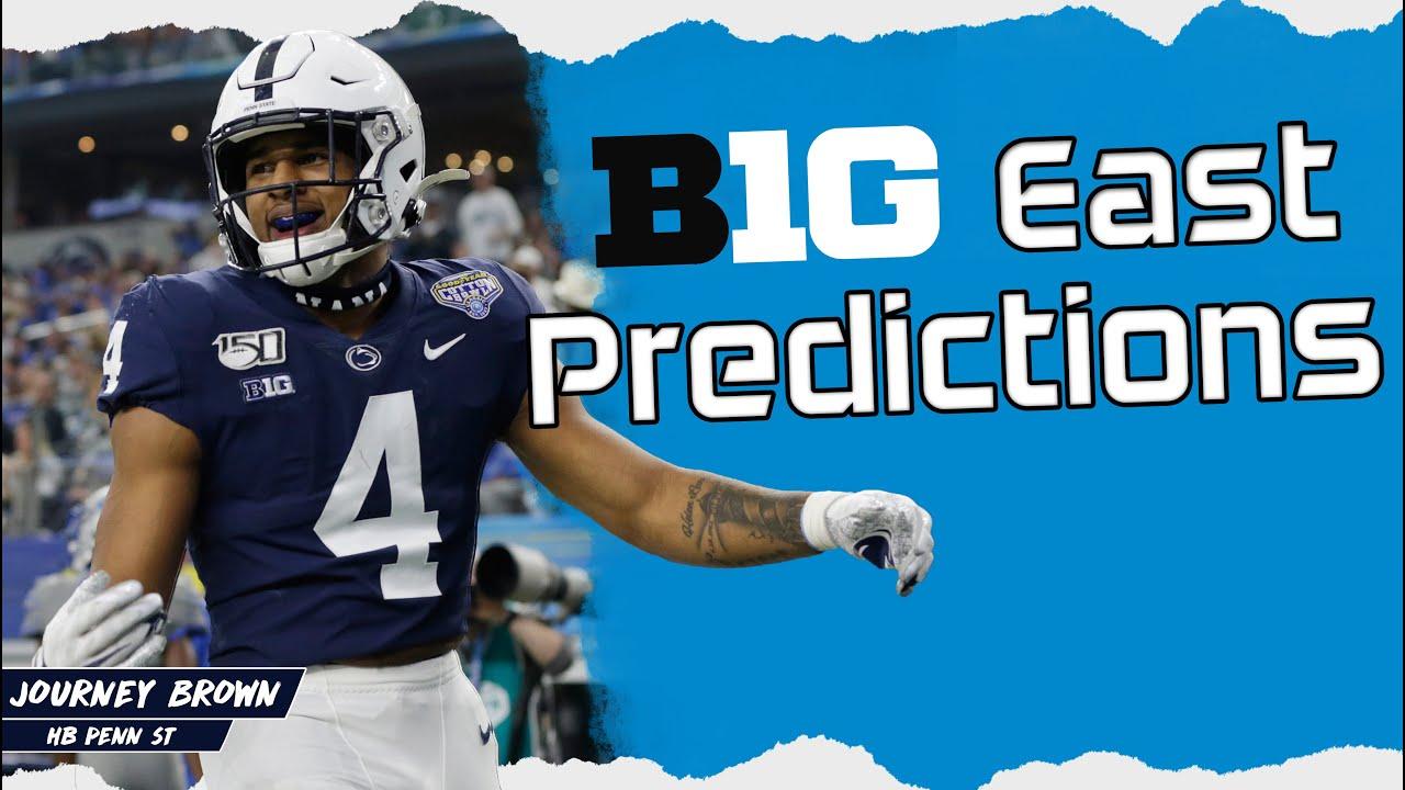 Big Ten East Team Predictions