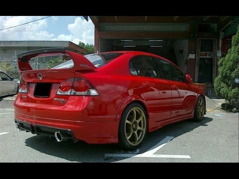 honda civic modified youtube. Black Bedroom Furniture Sets. Home Design Ideas