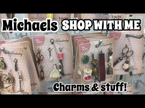 Shopping for Charms / Shop with me Michaels| I'm A Cool Mom
