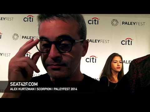 Alex Kurtzman Interview Scorpion PaleyFest 2014
