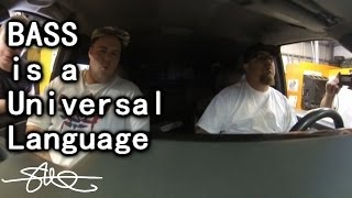 BASS is a universal language - No English required (visitors from Switzerland)
