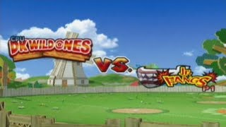 Mario Superstar Baseball - Exhibition Game #1 - DK Wild Ones @ Jr. Fangs