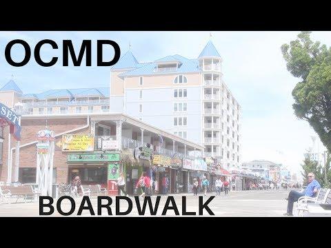 Exploring the Ocean City, MD Boardwalk!