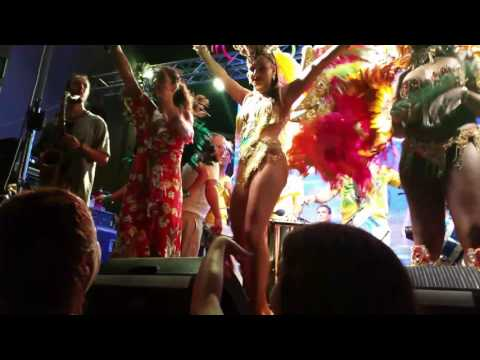 Singing and dancing from Brazil, Leila Marcus-Port of Tel Aviv, Israel