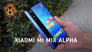 Изогнутый Xiaomi Mi Alpha — первый обзор
