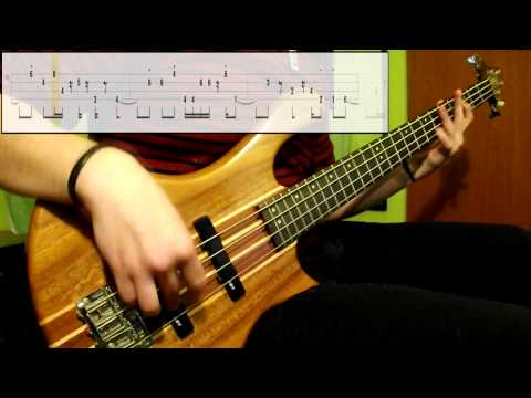 Daft Punk - Voyager (Bass Cover) (Play Along Tabs In Video)