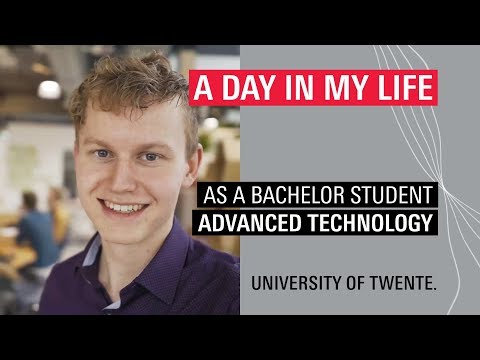 Student Vlog Of BSc Advanced Technology Student Werner