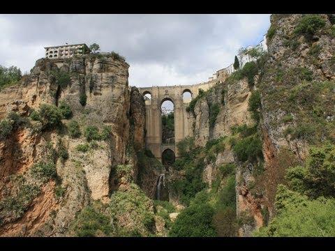 Spain - Port of Malaga (Ronda - Birthplace of Bullfighting)
