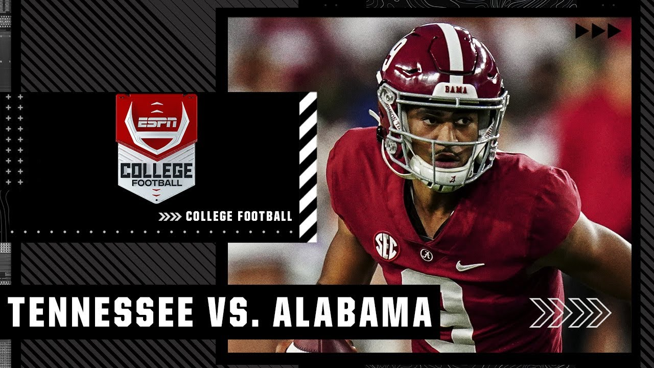 Tennessee vs. Alabama - Game Recap - October 23, 2021 - ESPN