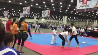 National TKD Championship 2017, Detroit, Michigan-Shanus Taekwondo Skills