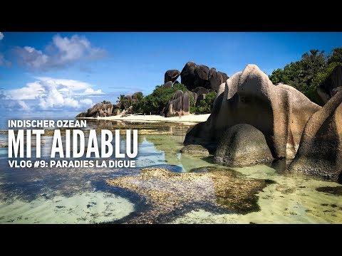 AIDA Vlog #9: Indischer Ozean mit AIDAblu - Ein Tag im Paradies auf La Digue