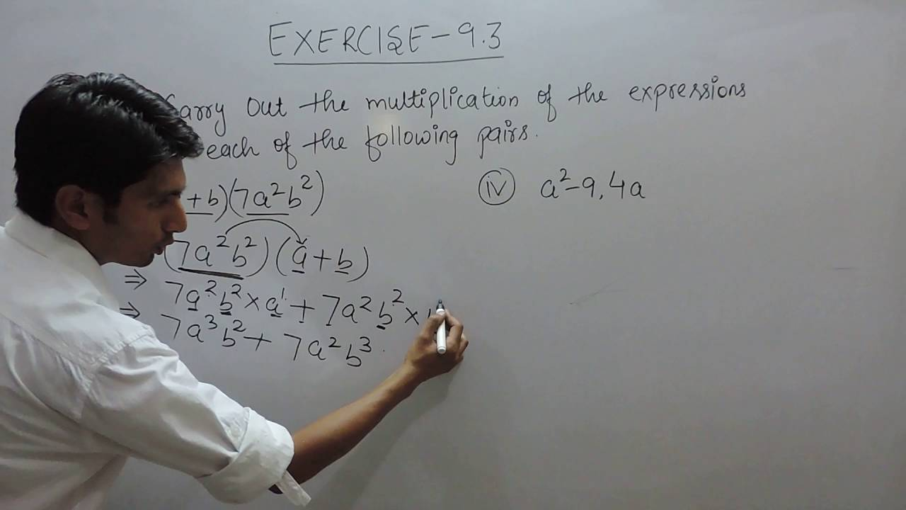 Exercise 9 3 - Question 1 (i,ii) NCERT Solutions for Class 8th Maths  Algebraic Expressions
