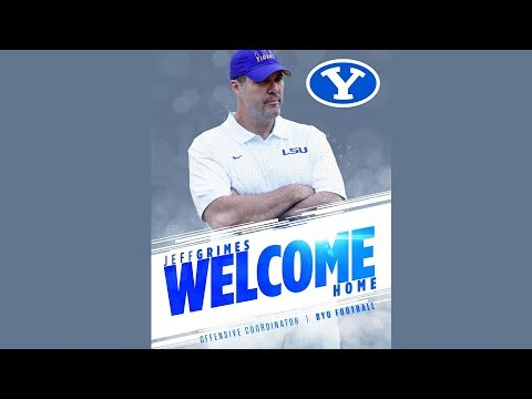 BYU Football - Jeff Grimes Introductory Press Conference December 6, 2017