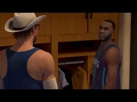 NBA 2k15 PS4 - Talking with Al Jefferson