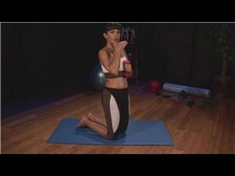 Upper Abdominal Exercises : Upper Abdominal Exercises: Kneeling Ab Crunch With Weights