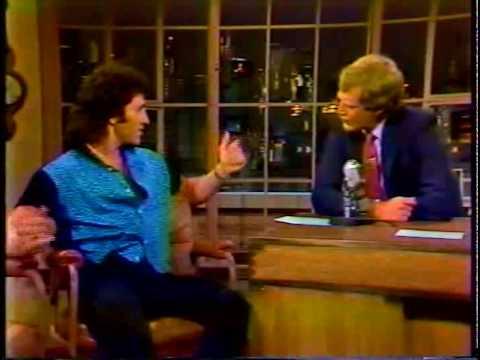 Frank Stallone on David Letterman 1985